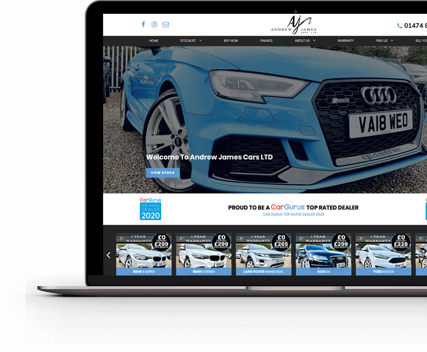 Andrew James Cars Ltd